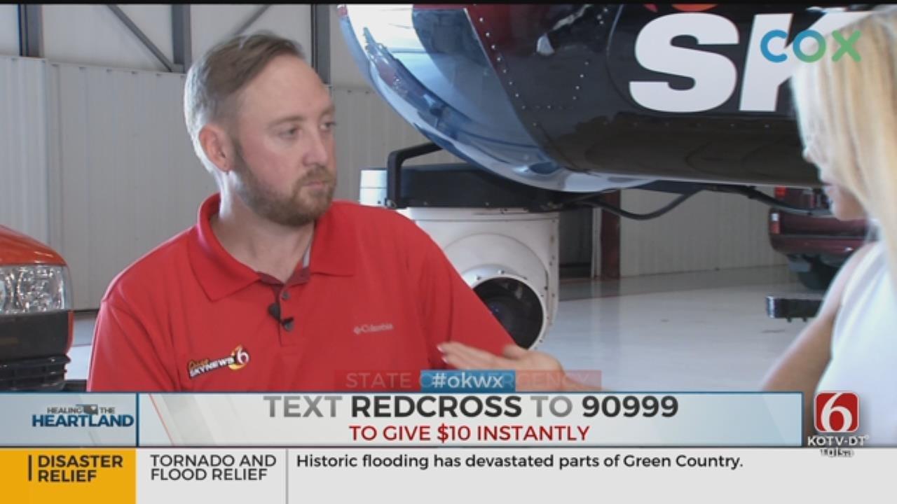 Osage SkyNews 6 Pilot Recounts Unforgettable Sights Of Oklahoma's Devastating Floods