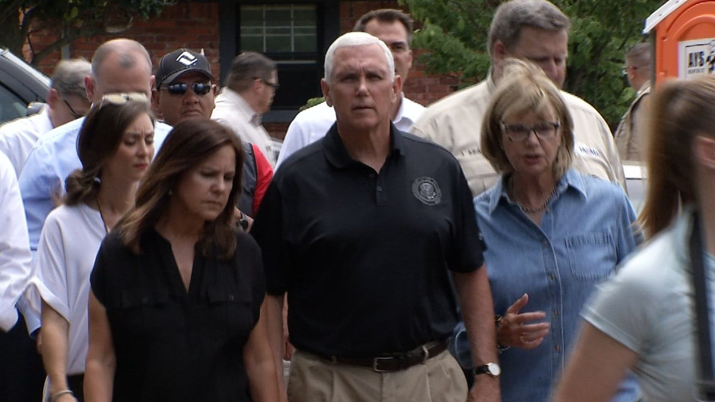 Northeastern Oklahoma Supported By State, Federal Leaders Amid Flooding Emergency
