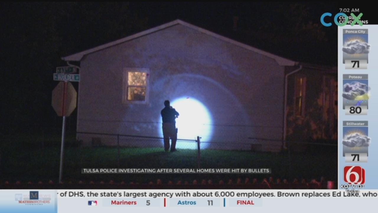 Tulsa Homes Damaged After Shots Fired