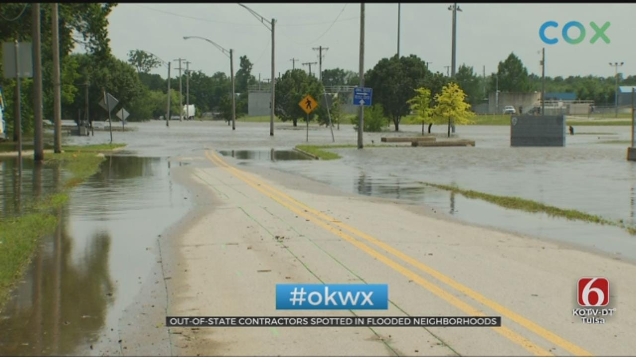Officials Warn Flood Victims To Be Wary Of Scammers