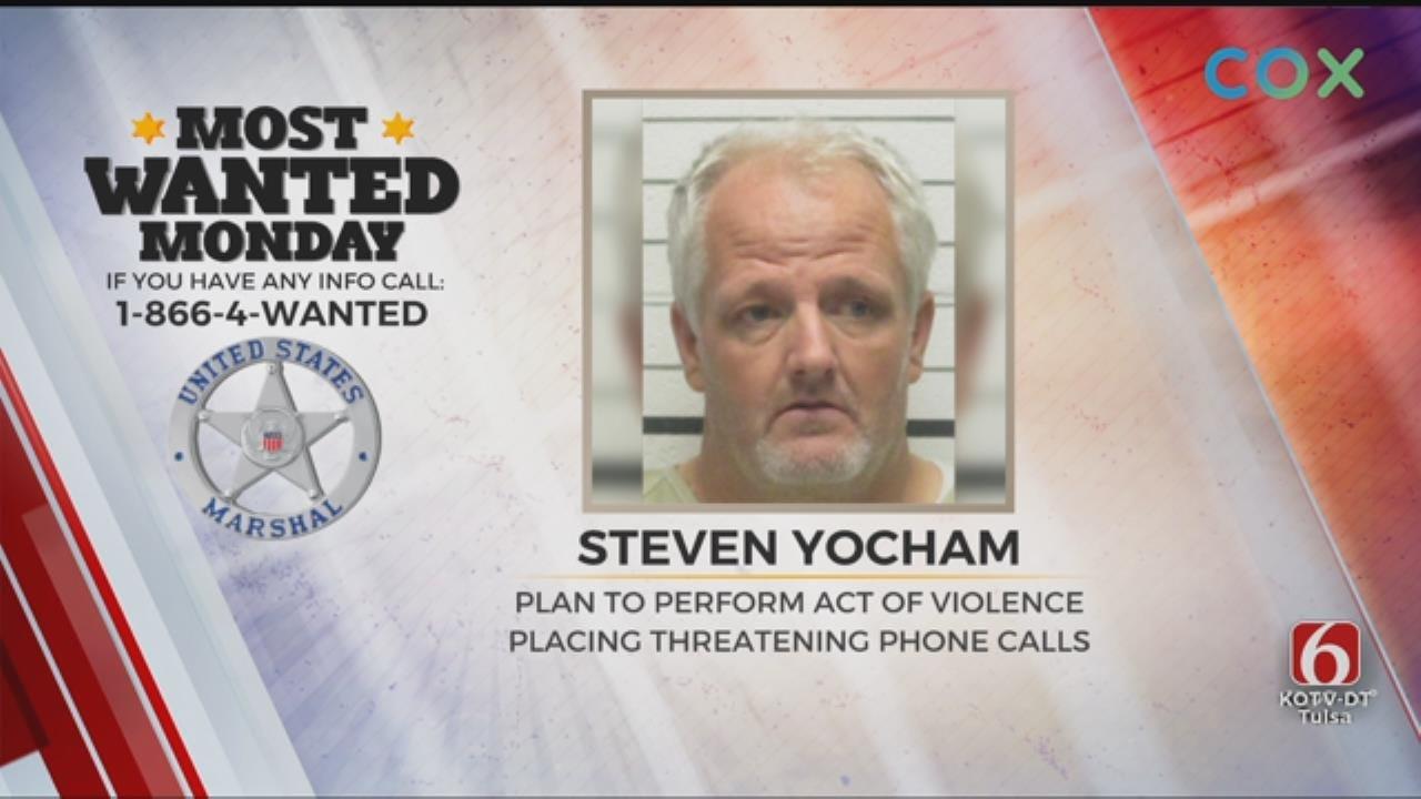 U.S. Marshals Capture Wanted Creek County Man