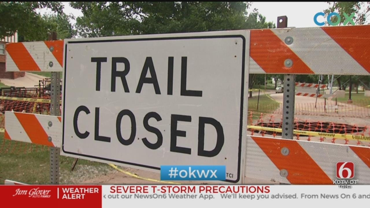 Tulsa River Parks Back Open After Flooding, With Exceptions