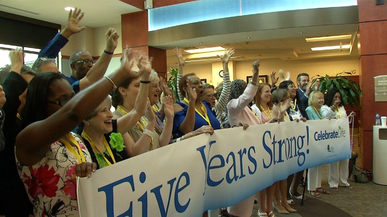 Over 200 Cancer Survivors Celebrate In Tulsa
