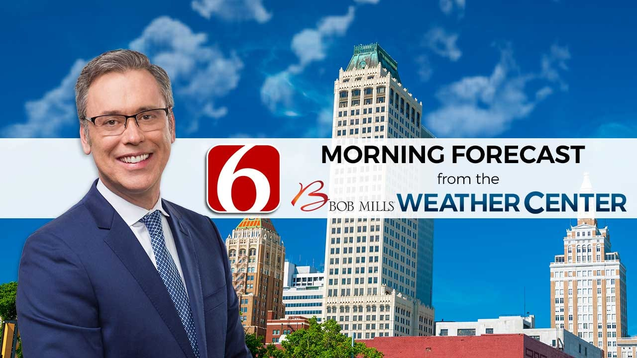 Monday Mid-Morning Weather With Alan Crone