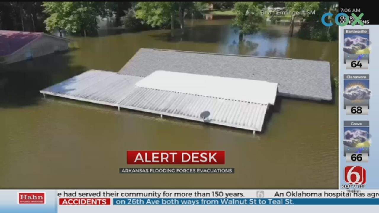 Flooding Continues For Arkansas, Other States