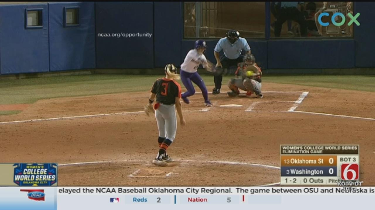 OSU Softball's Season Ends After 1-0 Loss To Washington