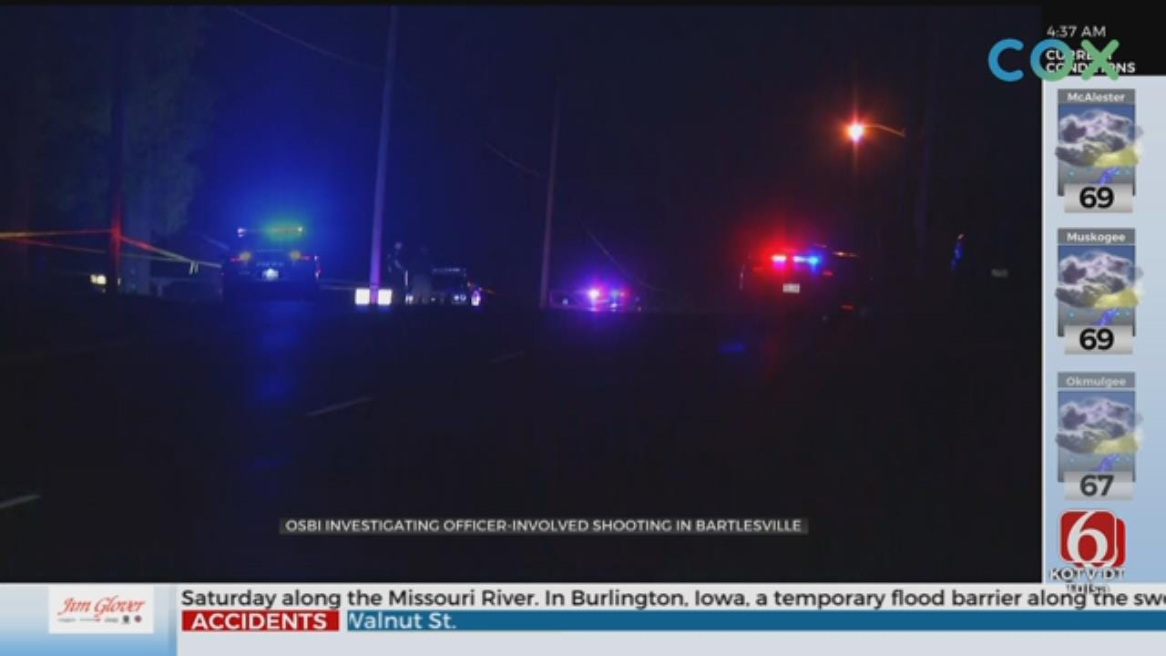 1 Person Dead Following Officer Involved Shooting In Bartlesville
