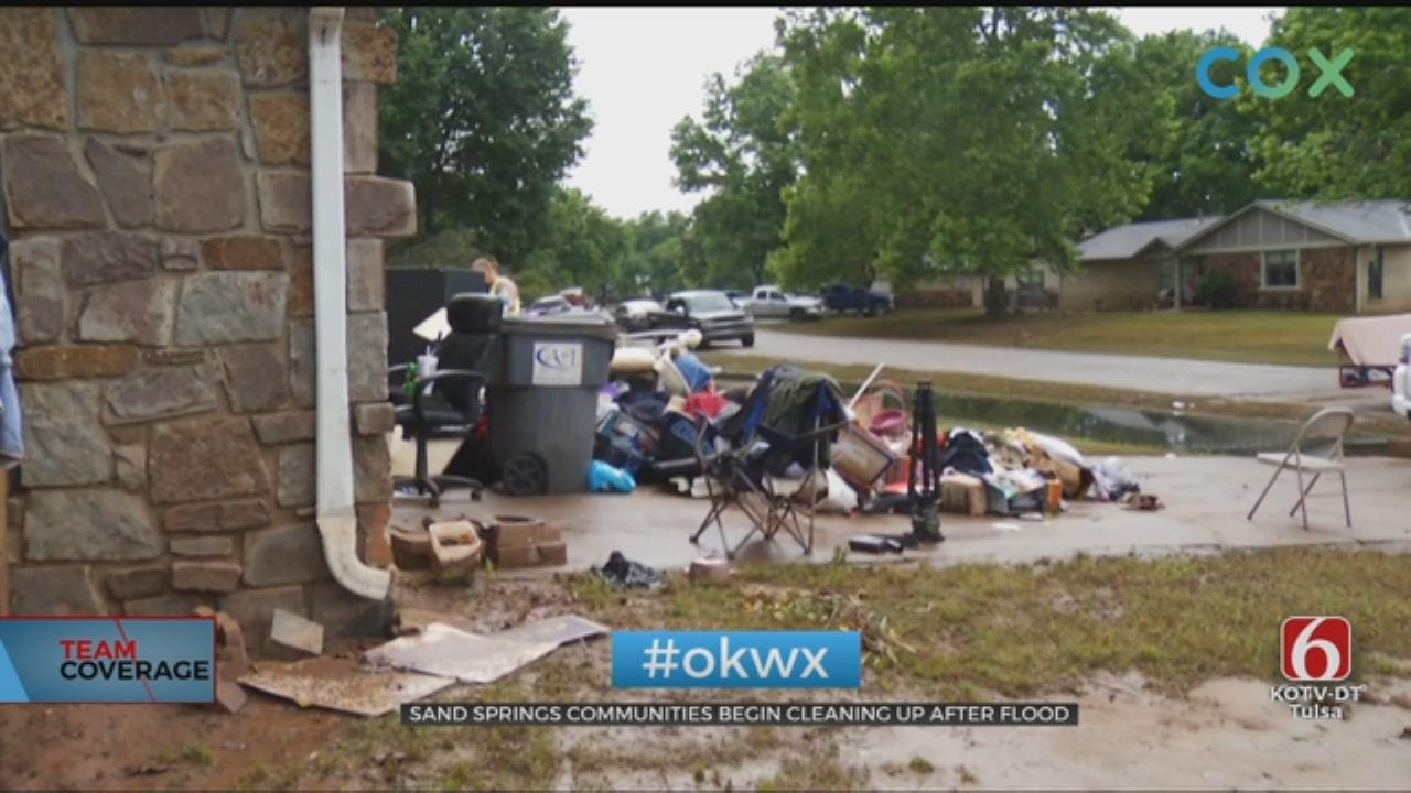 Long Road Ahead For Those Affected By Sand Springs Floods