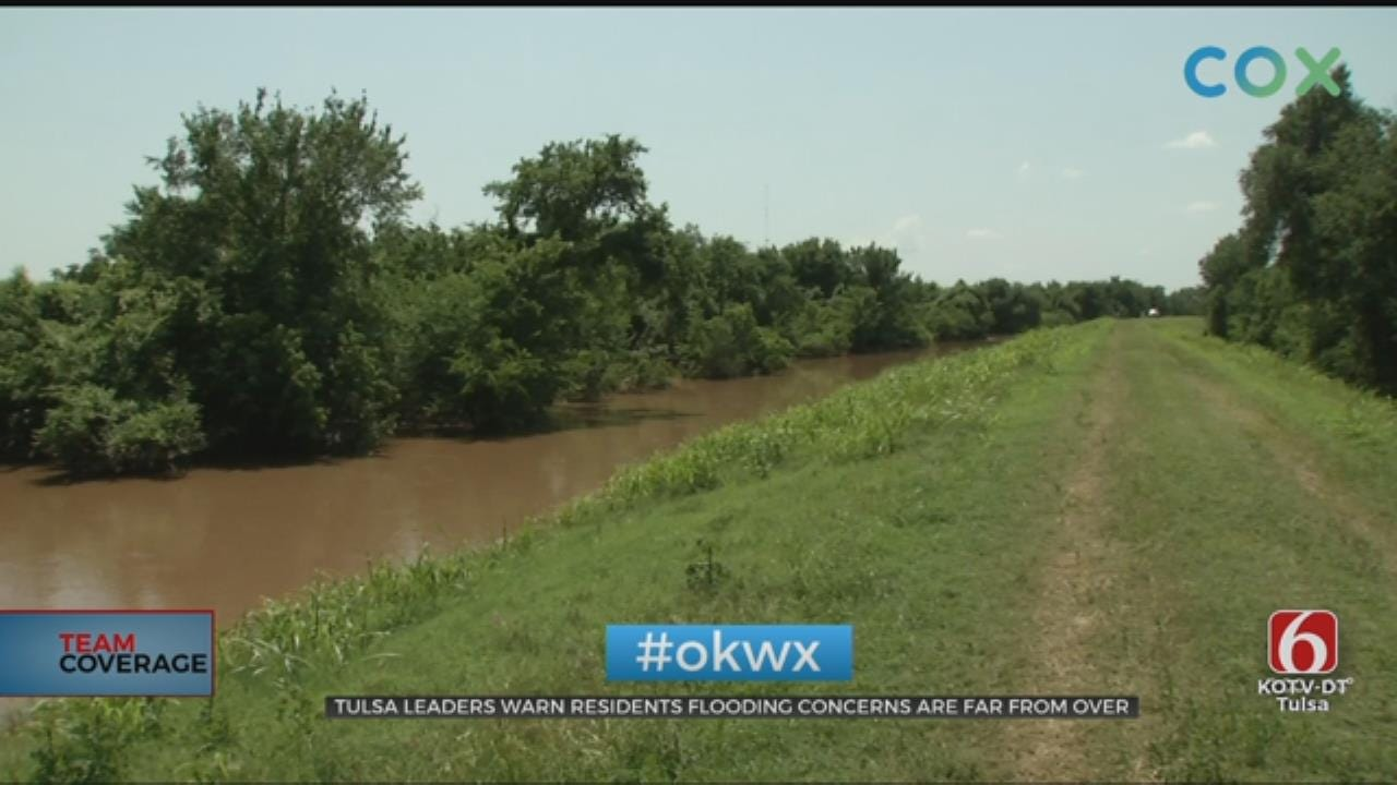 Tulsa County Levees Still At Risk Of Flooding, Officials Say