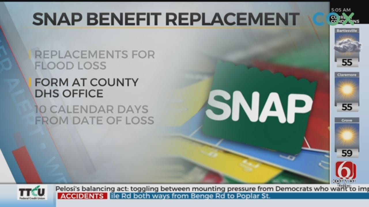SNAP Recipients Able To Request Replacement Of Food Lost To Flooding