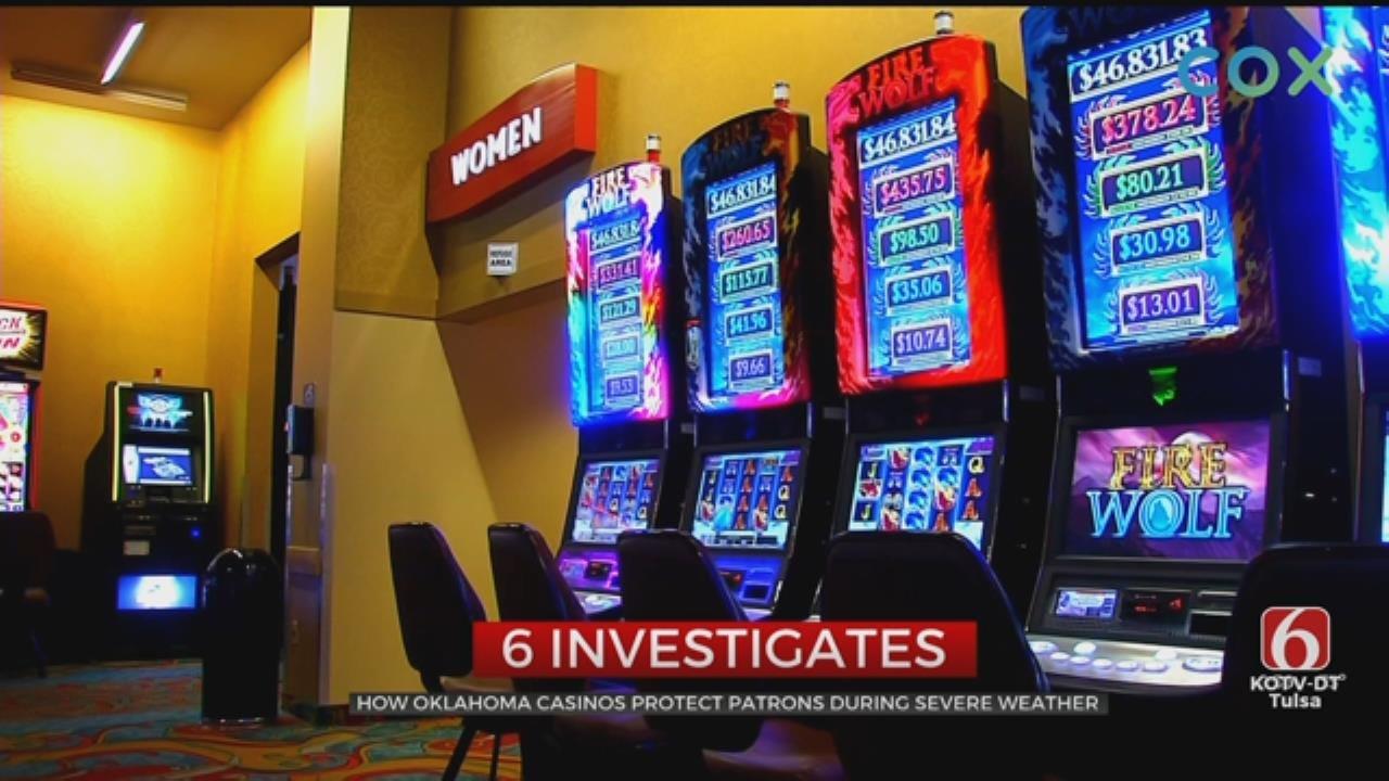 6 Investigates: Tornado Safety At Oklahoma Casinos