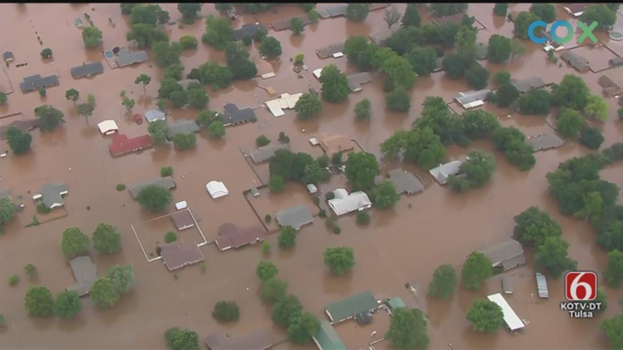 Osage SkyNews 6 HD: May 28 West Sand Springs Flooding