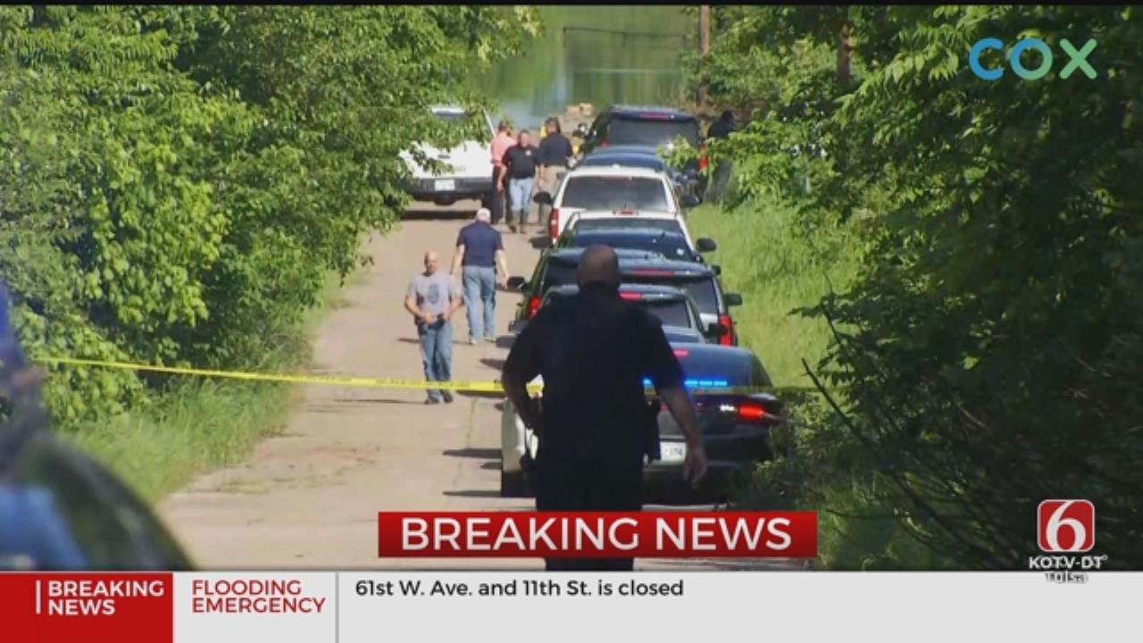Officials Investigate Body Found In Flood Waters Near Mannford