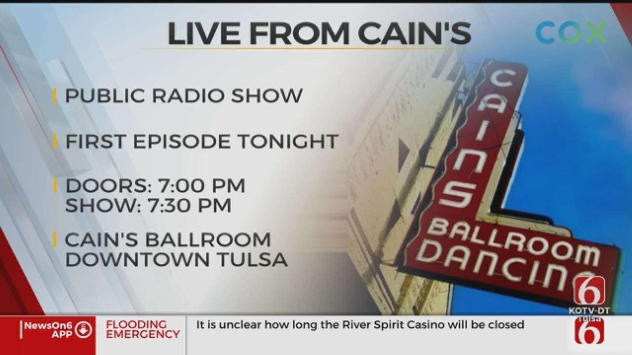 'Live From Cain's' Debuts Wednesday Night