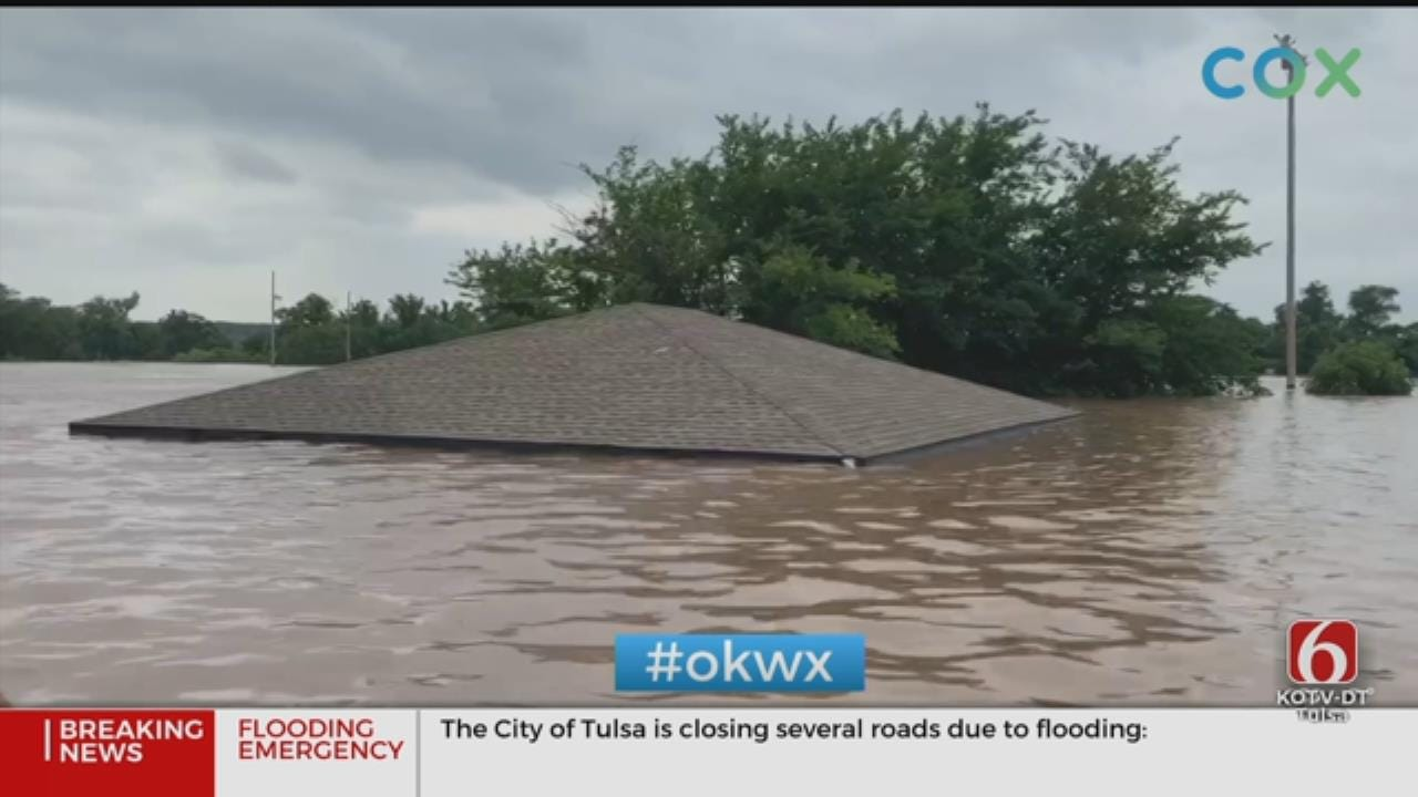 WATCH: Officials Continue Monitoring Levees, Ask People To Stay Away From Levees