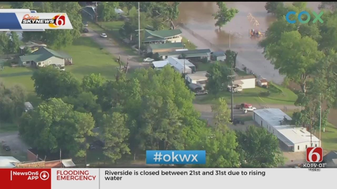Webbers Falls Flooding Appears To Be Receding, Corps Says