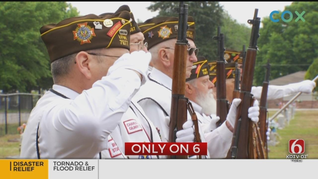 VFW Honor Guard Stands Ready To Celebrate Fallen Brothers And Sisters