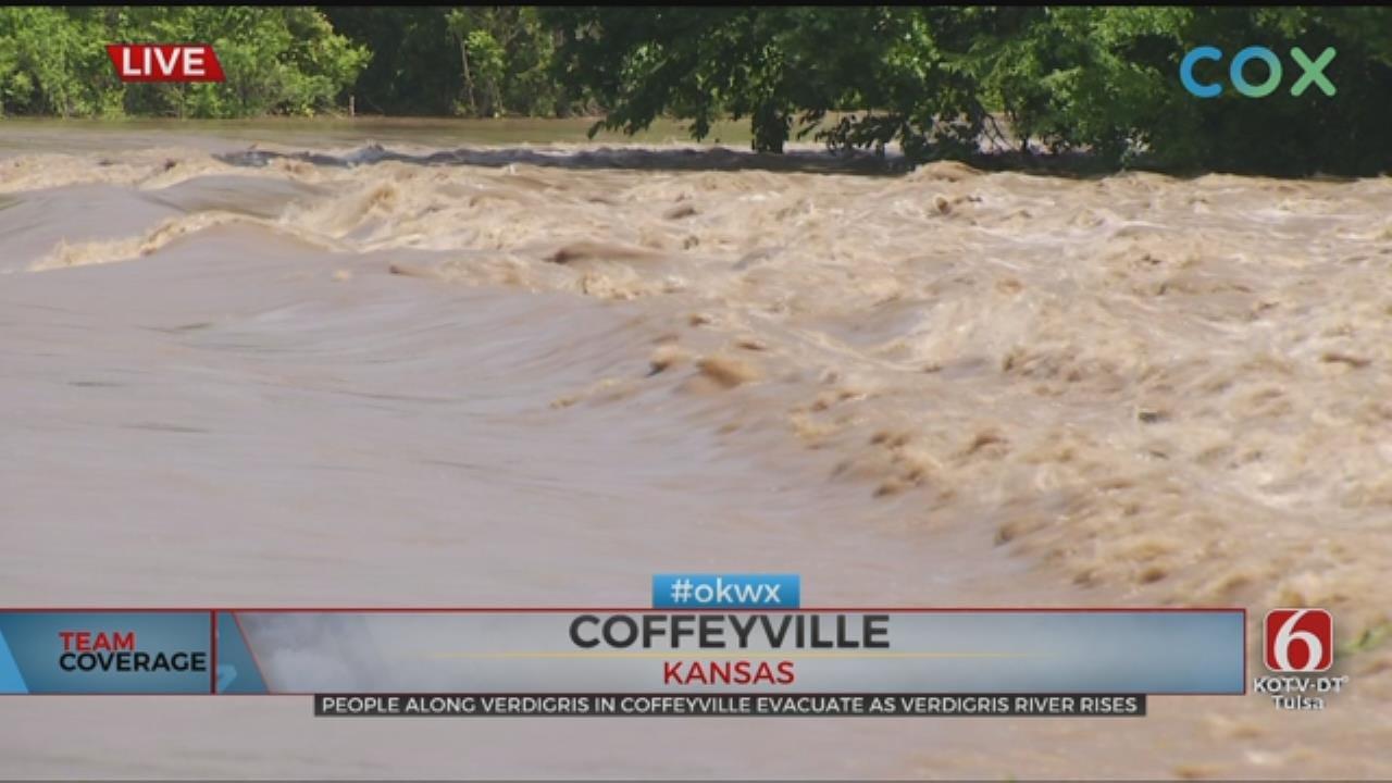 City Of Coffeyville Orders Mandatory Evacuation For Flood Prone Areas