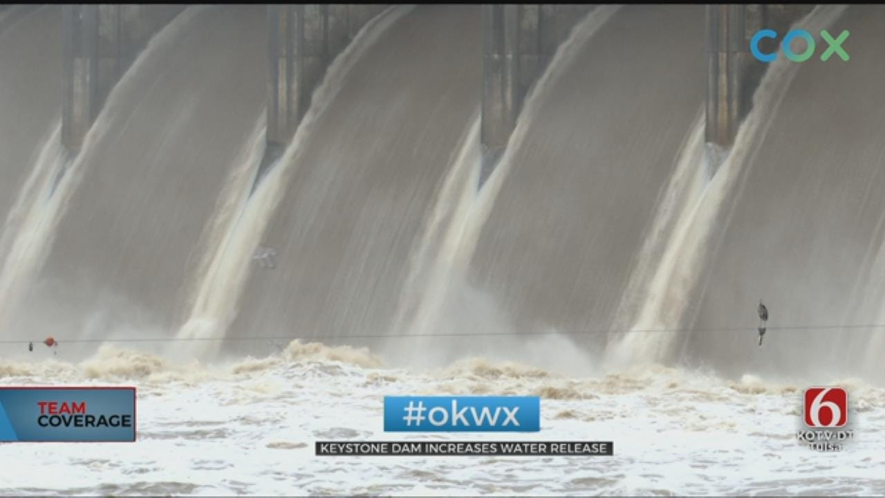 Army Corps Of Engineers Increasing Release Rate At Keystone Dam