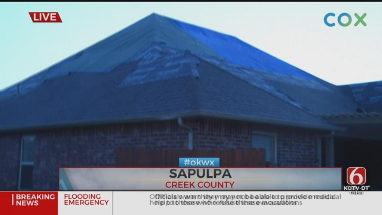 Incredible Storm Damage Reported In Jenks And Sapulpa