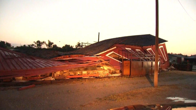 Sporadic Damage Found Around Downtown Sapulpa
