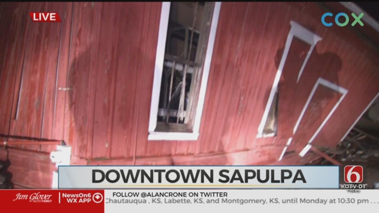 WATCH: Alan Crone Reports On Storm Damage in Sapulpa