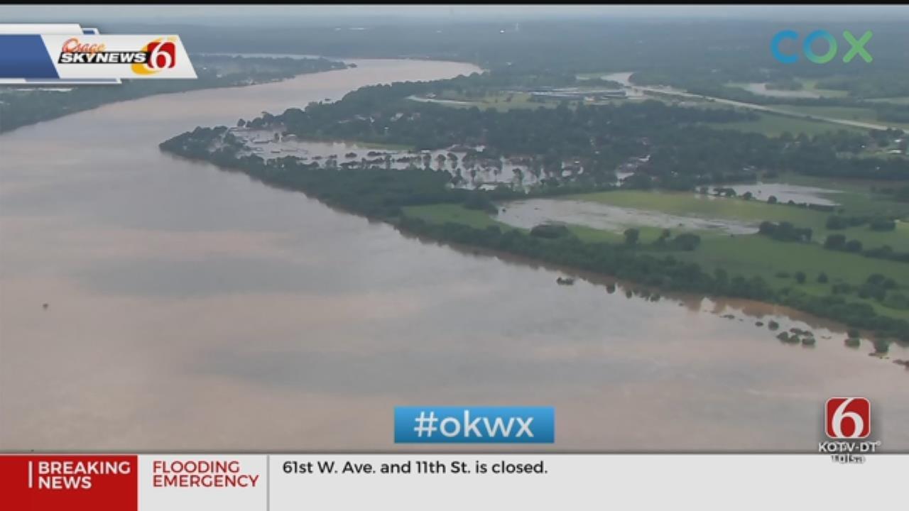 Muskogee Water Treatment Plant Still Operational Despite Flooding