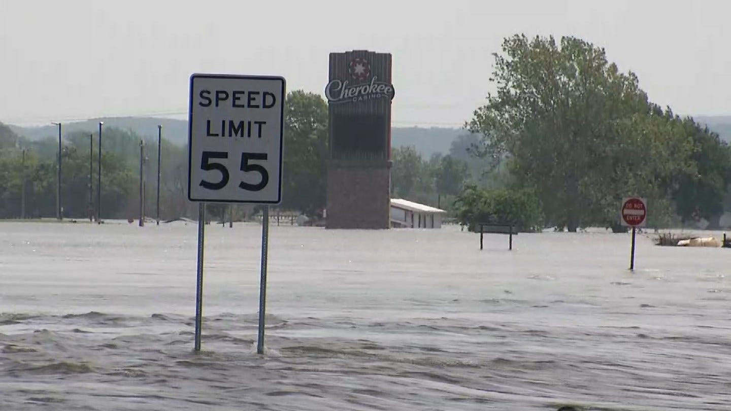 Muskogee Officials Warning Residents To Evacuate