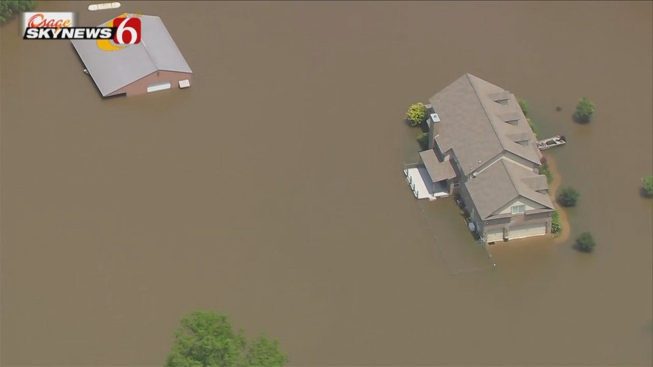 More Water Headed Towards Badly-Flooded Muskogee