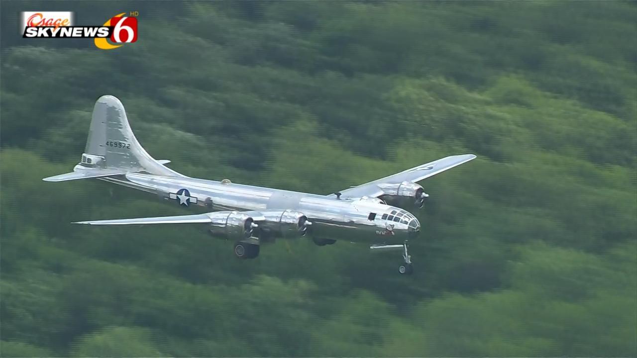 B-29 Bomber Visits Tulsa