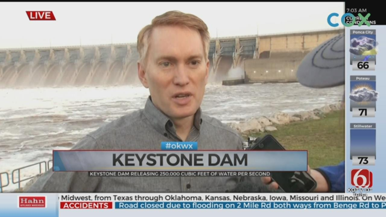 UPDATE: Keystone Dam Continues To Release More Water