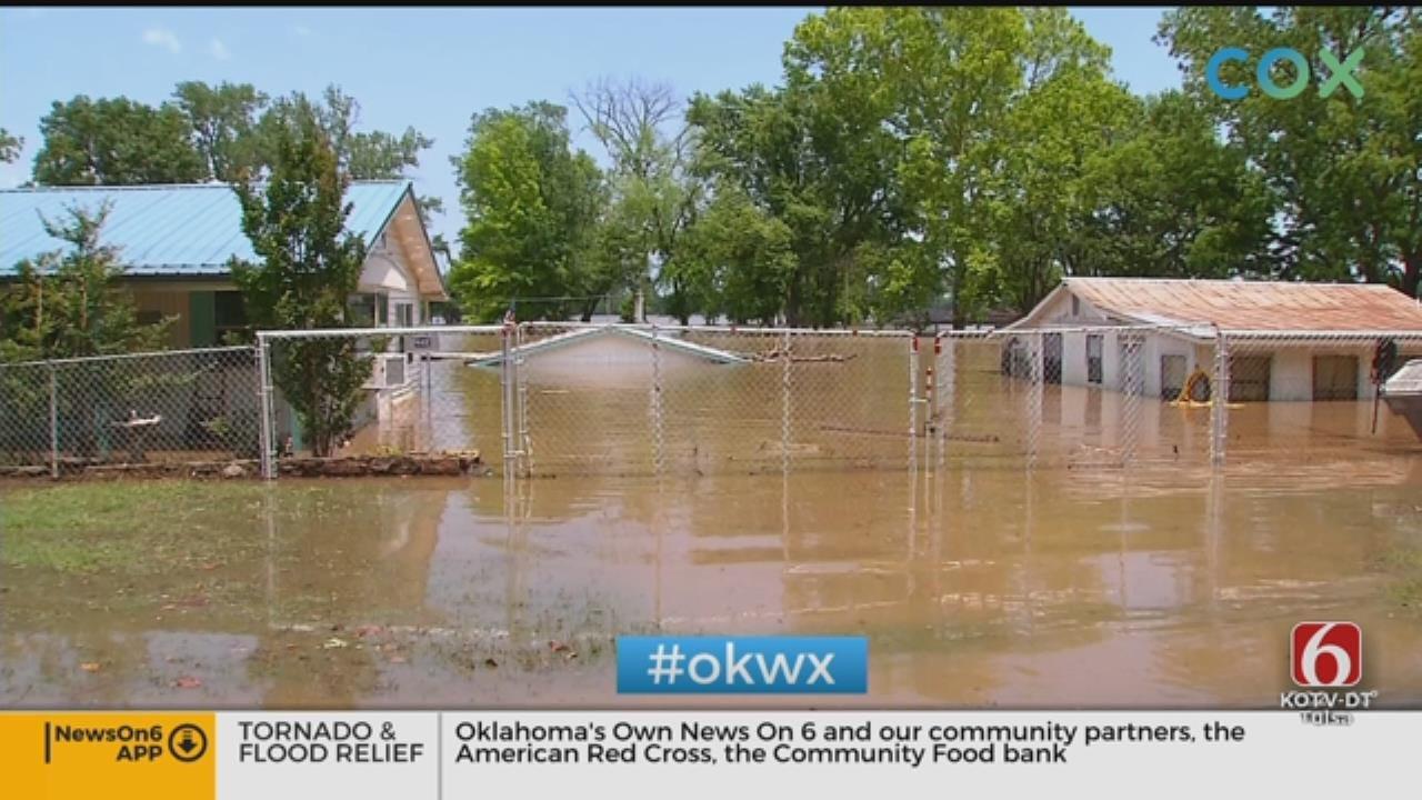 Webbers Falls Remains Under Evacuation