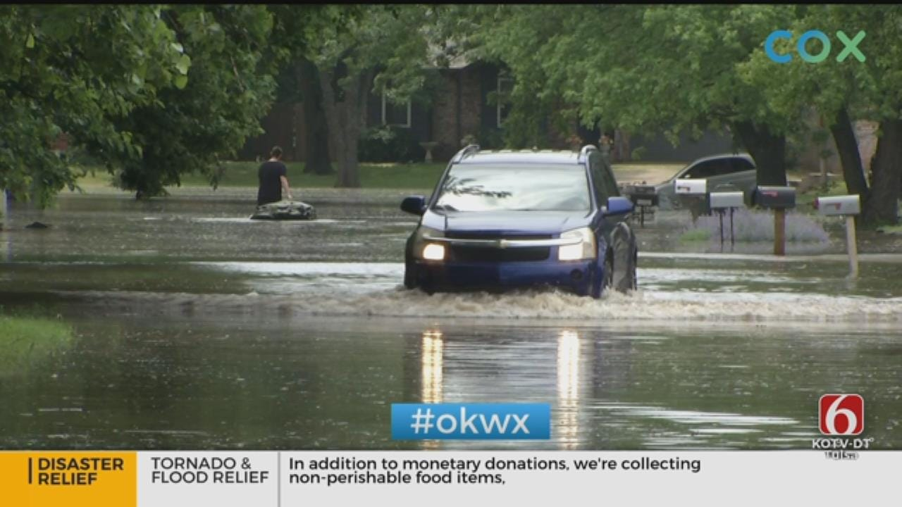 Low-Lying Sand Springs Neighborhoods Threatened By Flooding