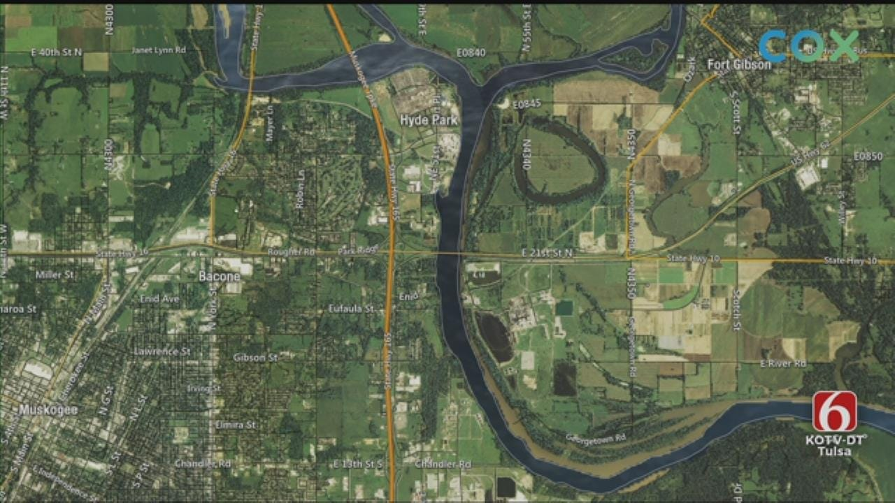 Muskogee County Evacuations Underway As Arkansas River Rises