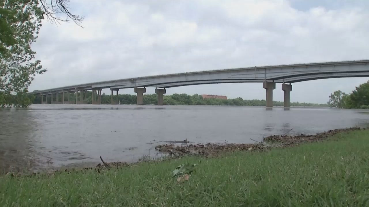 Arkansas River Flooding In Muskogee County