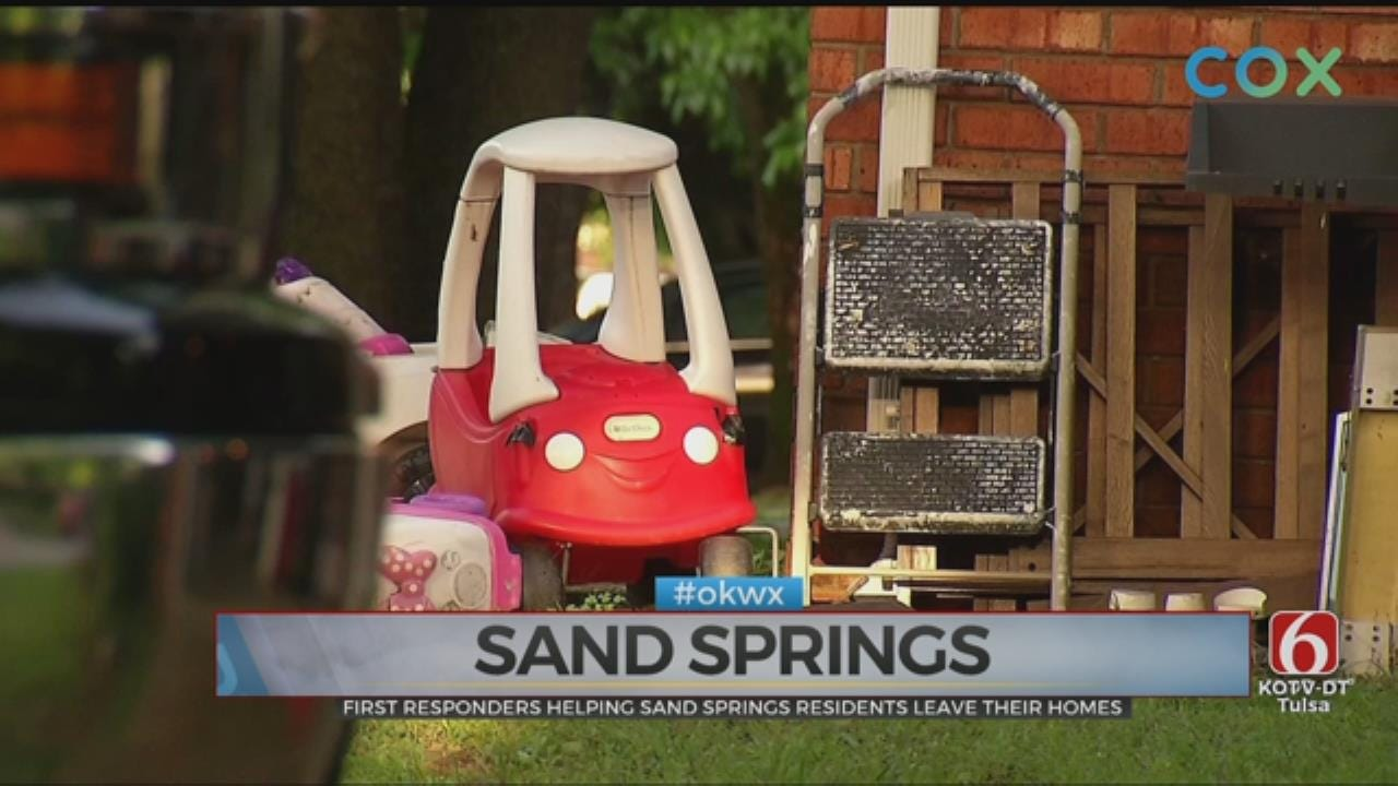 Sand Springs Residents Urged To Take Flood Precautions