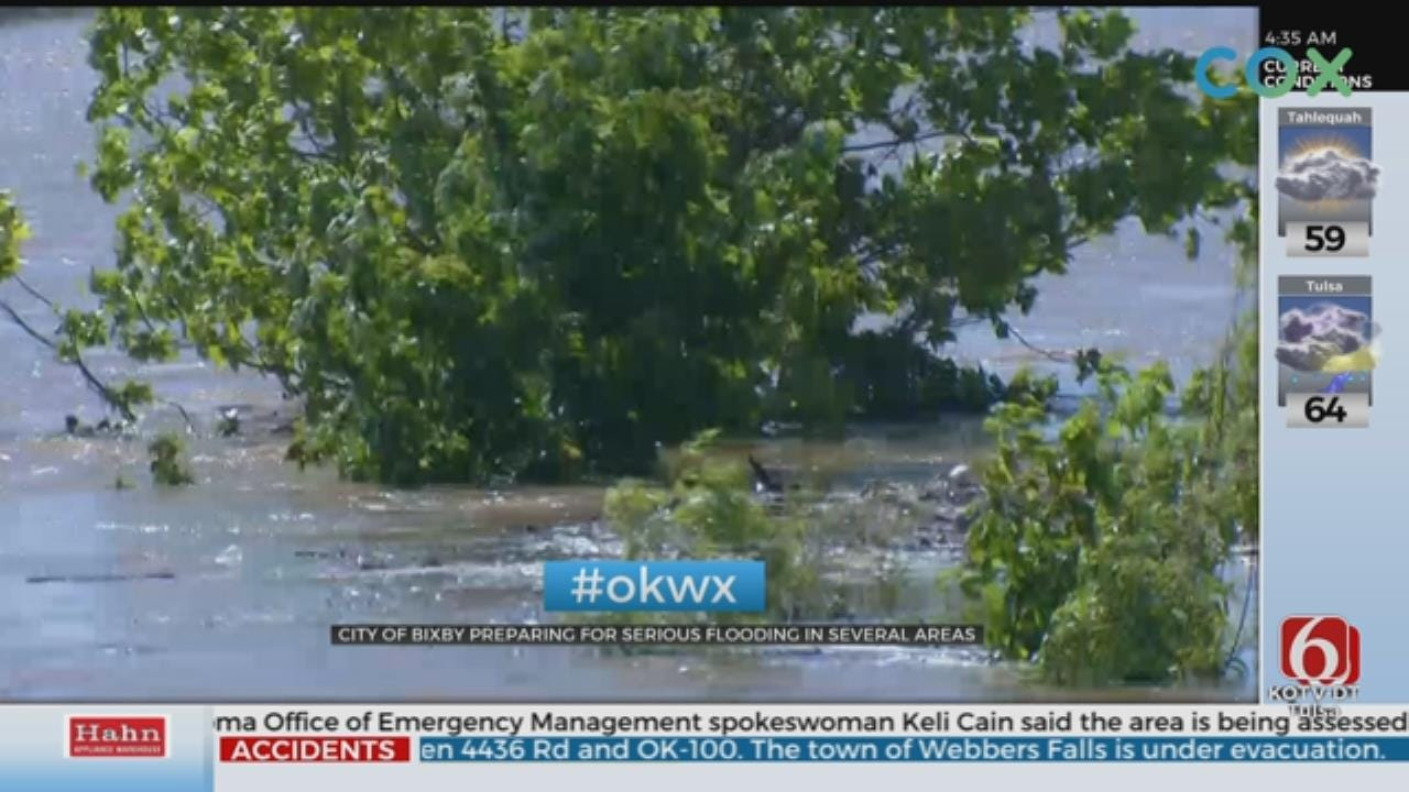 Bixby Residents Prepare For Potential Flooding