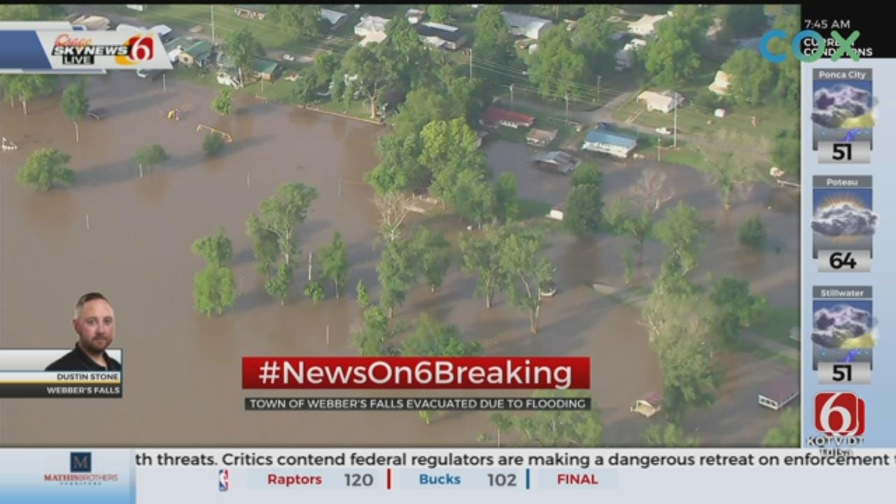 Webbers Falls Evacuating, Expecting Flooding