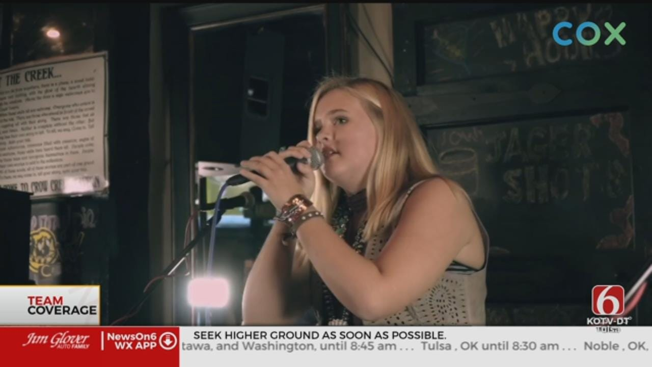 High Water In Mannford Traps Aspiring Young Singer