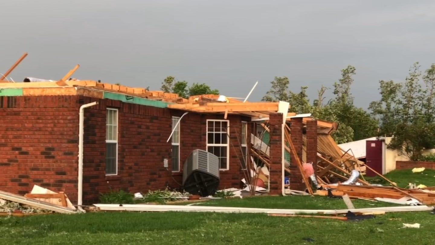 Peggs Couple Says It's A Miracle They Survived Possible Tornado