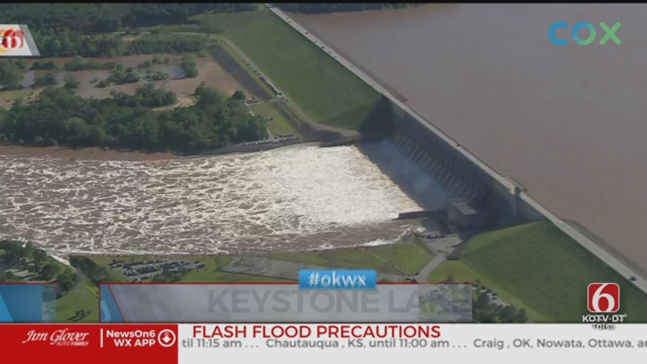 Tulsa Corps of Engineers to Increase Water Flow of Keystone Dam