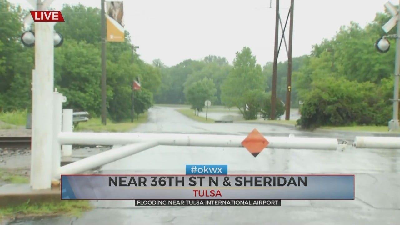 Emory Bryan: Tulsa Tornado Causing Closures, Flooding