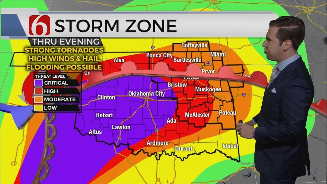 Monday Severe Weather Update With Mike Grogan