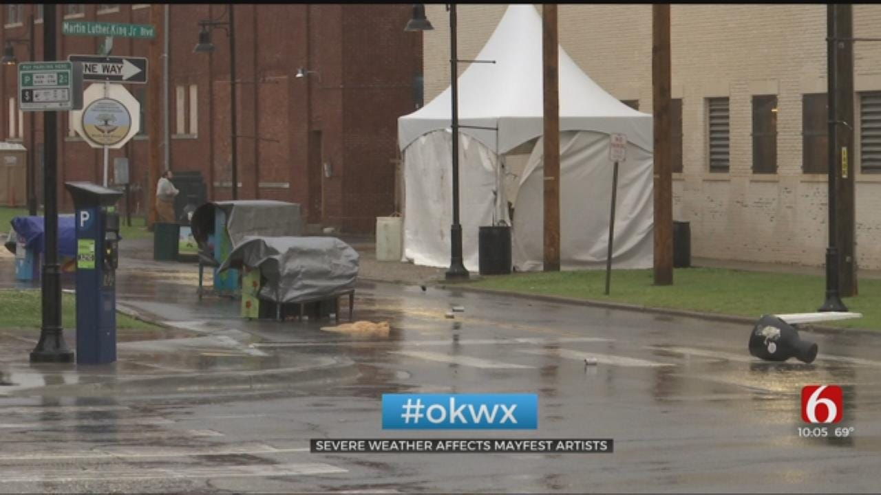 Severe Weather Costs Mayfest Artists Thousands Of Dollars