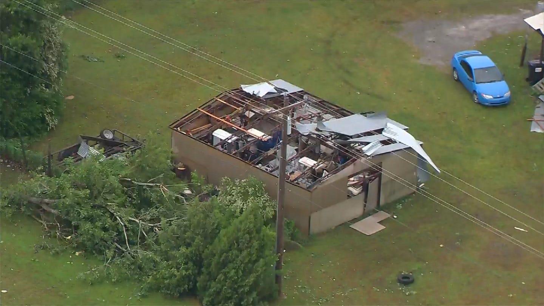WATCH: SkyNews 6 HD Surveys Storm Damage Near Claremore