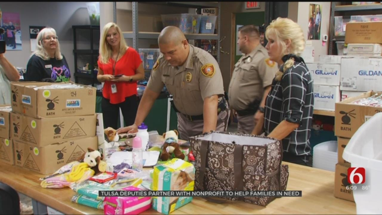 Tulsa County Sheriffs Partner With Joy In The Cause