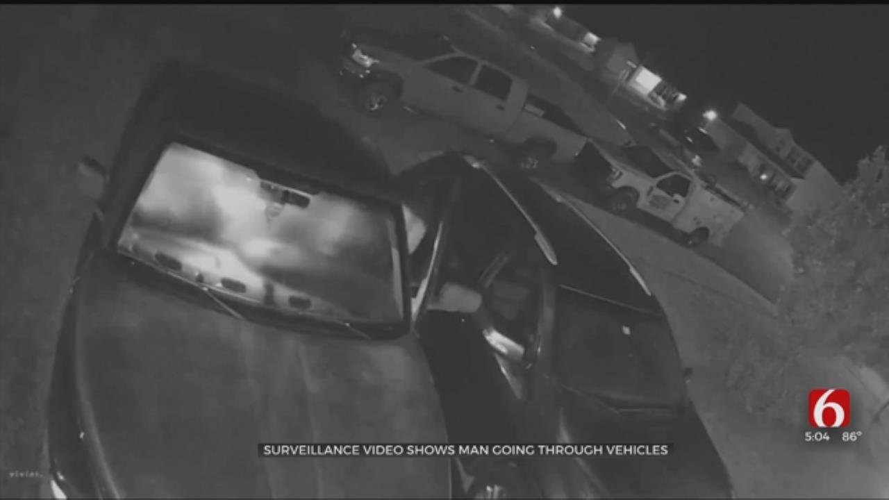 Vehicle Burglary Suspect Wanted In Wagoner County