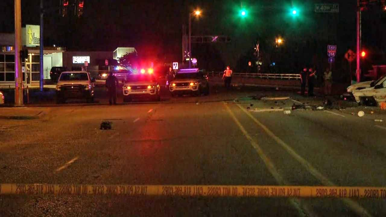 Man Killed In High-Speed Tulsa Crash On Southwest Boulevard