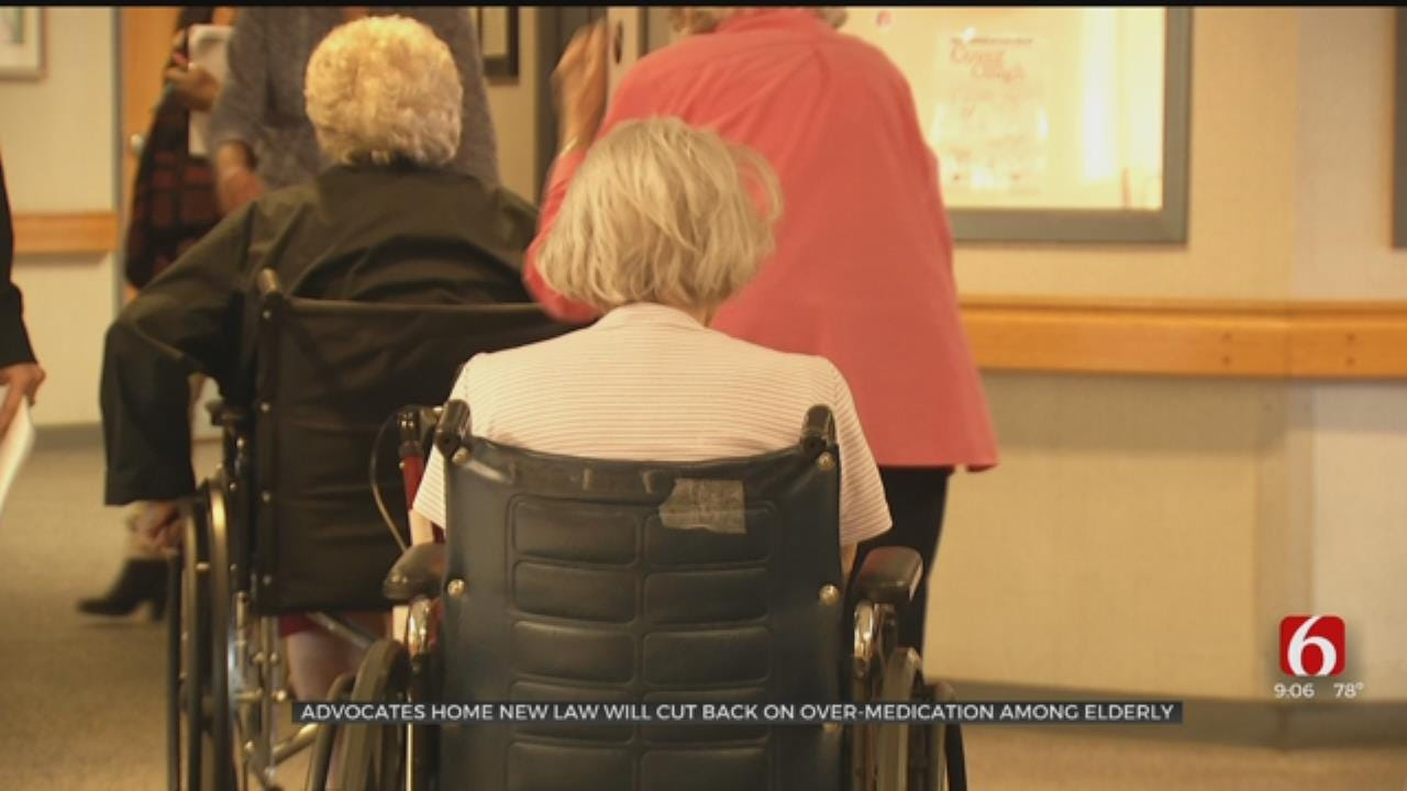 New Bill Stops Nursing Homes From Using Anti-Psychotic Drugs Without A Diagnosis