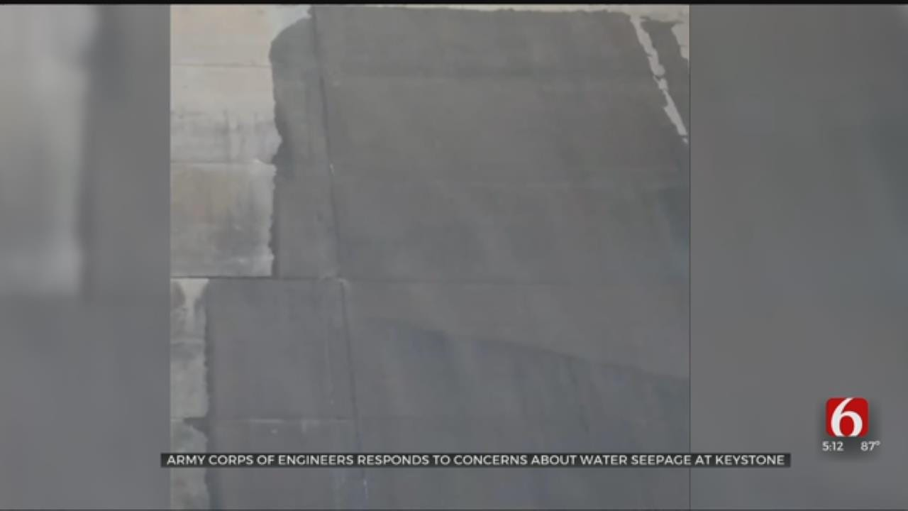 Army Corps Of Engineers Addresses Concerns Over Keystone Dam Leaks
